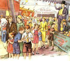 Florence et Margaret Hoopes. #circus #vintagecircus