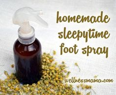 One thing that I've been using for the last year or so that has made a noticeable difference in our sleep quality is a homemade natural sleep spray.  It has a variety of natural ingredients that help promote restful sleep and I really have noticed a difference with my own sleep quality and in how long/deep my children sleep since using this ...