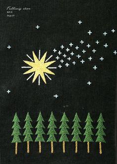 Falling star by Yumiko Higuchi