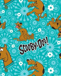 Width Scooby Doo Toss on Blue Fabric to sew . This print shows Scooby Doo tossed on a teal blue background. Fabric by Camelot Fabric Classic Cartoon Characters, Classic Cartoons, Cool Cartoons, Scooby Doo Images, Scooby Doo Pictures, Desenho Scooby Doo, What's New Scooby Doo, Scooby Doo Mystery Incorporated, Shaggy And Scooby
