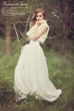 Fashion Editorial: Enchanted Forest(7)_暮光之城 - 美丽鸟