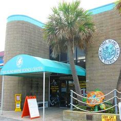Tybee Island Marine Science Center for visitors, scouts, & school groups on the beach, marsh, water, & Coastal Gallery.