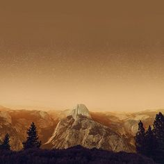 Papers.co wallpapers - mw10-el-capitan-mountain-wood-night-sky-star-orange - http://papers.co/mw10-el-capitan-mountain-wood-night-sky-star-orange/ - mountain, sky, space