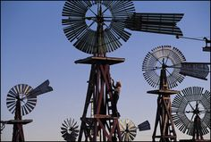 Texas Windmill Collection