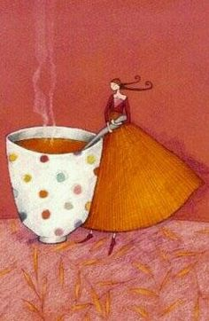 Mary Engelbreit, Coffee Coffee, Whimsical Art, Clay Art, Love Art, Acrylics, Art Images, Poppies, Journaling