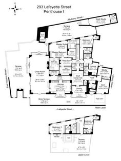 97 best penthouse images on pinterest apartment floor plans pucks 66m penthouse officially vies for downtown record beautiful house planshouse blueprintsapartment malvernweather Images