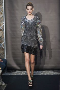 Défile Fred Sathal Haute couture Automne-hiver 2014-2015 - Look 31