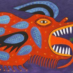 The colourful work of celebrated Ukrainian naive artist #MariaPrimachenko. In…