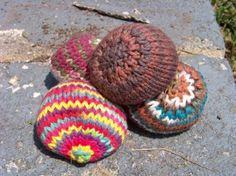 Knit Hacky Sack pattern