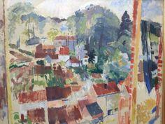 Rik Wouters, Open venster op Bosvoorde (1914). on ArtStack #rik-wouters #art