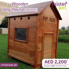 Best Quality Wooden Dog House   MisterPet.ae 🐶 Order Online Now 🖥>> https://goo.gl/HAb39v  #MisterPet #MisterPetUAE #MisterPetDubai