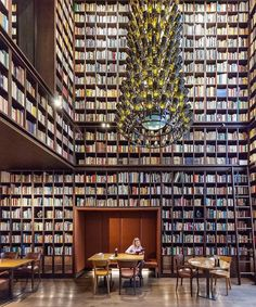 Tag a book lover! The Wine Library at Boutique Hotel designed by Ushi Tambor… Tag a book lover! 😍📚 The Wine Library at Boutique Hotel designed by Ushi. Library Bar, City Library, Modern Library, Library Design, Library Books, Lonely Planet, Architecture Design, Building Architecture, Beautiful Architecture