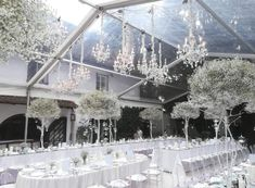 decoration … - Home Page Tent Decorations, Wedding Flowers, Chandelier, Ceiling Lights, Lighting, Home Decor, Organization, Villach, Outdoor Camping