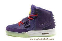 Women Shoes Nike Air Yeezy II Purple Sale