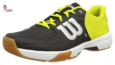 online retailer 1842f 78000 Wilson RECON BK Sulphur Sp WH 7.5, Chaussures de Tennis mixte adulte 41