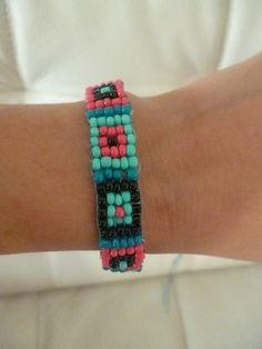 Beaded bracelet,Natasa Balouktsi
