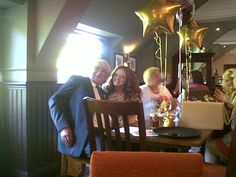 John and Annalises, Belper Rock Choir, on their 60th and 18th birthday party with Rock Choir friends, The Mill House