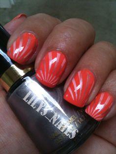 31 Day challenge 2012: Day 02 Orange Nails