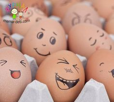 45 cool ideas on how to make easter eggs and how funny eggs can make faces - Ostern mit Kindern basteln - # Kids Crafts, Egg Crafts, Easter Crafts, Holiday Crafts, Diy And Crafts, Easter Art, Funny Easter Eggs, Funny Eggs, Making Easter Eggs