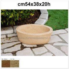 vasi giardino mortaio galena 585mo833 bocciardato|esagonale Mini Pond, Garden Pots, Outdoor Decor, Minnesota, Garden Planters