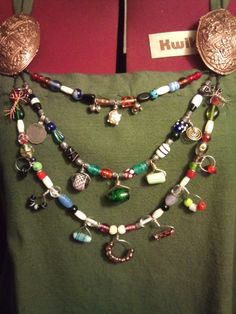 viking cascade, or treasure, necklace