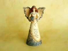 Angel - Love / Figurine, Get it now $12.99 - To Love and be Loved is the Greatest Joy