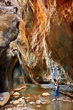 Sarakina Gorge, Crete, Greece