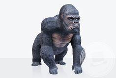 A che serve il cane da guardia...se in giardino ci metti il gorilla!                             Personaggio in vetroresina a grandezza naturale, lo trovi solo su www.telovendoio.it!