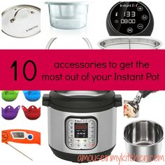 Ten Instant Pot Accessories That Are Nice To Have
