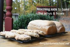 Teaching kids the whys and hows of baking.