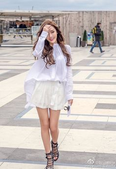Jessica Jung and her gorgeous updates from Paris