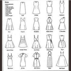 Dresses & Skirts - Resources to help you sell your items!