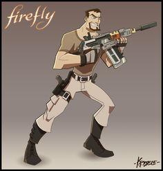 Firefly Art by ~Kristele on deviantart - Imgur