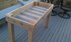 DIY: Raised Bed Planter