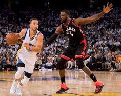 Blog Esportivo do Suíço:  Warriors voam no início, levam sufoco no fim, mas passam pelos Raptors