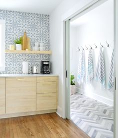 The Duplex Laundry Room / Mudrooms: Completed! Laundry Room Wall Decor, Mudroom Laundry Room, Laundry Room Design, Layout Design, E Design, Design Ideas, Dining Table Chandelier, Beach House Vacation Rentals, Laundry Doors