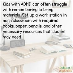 Solutions for Social Emotional Learning & Behavior Management Strategies, Adhd Strategies, Time Management Skills, Autism Teaching, Preschool Special Education, Gifted Education, Dyslexia Activities, Learning Disabilities, Behavior Plans