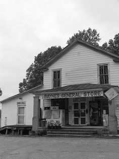 Baynes General Store (Black and White) | Flickr - Photo Sharing!