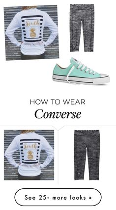 """""""Mint converse"""" by bluebelle10001 on Polyvore featuring Converse and Under Armour"""