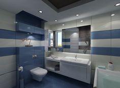 Fliesen und Mosaik in der begehbaren Dusche  Badezimmer ...