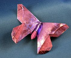 Origami Butterfly - Lillian Oppenheimer by Michael G. LaFosse folded by Gilad Aharoni