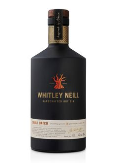 Whitley Neill Gin Redesign by Kirsty McMaster, via Behance
