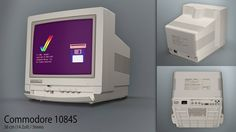 """The #Commodore 1084 and its variants (1084S, 1084ST, 1084S-P, 1084-P, 1084S-P2, 1084-D, 1084S-D) are all 15.75 kHz monitors. They do not handle #AGA """"double"""" #screenmode. However, they will show all normal 15.75 kHz #displays, and most of the 1084 versions have a separate input for composite #video. The 1084 is a usually a variation of the #Philips CM8833 #monito"""