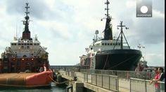 El negocio de rescatar y desmantelar el Costa Concordia