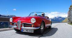 Alfa Romeo Giulia Spider in Südtirol | Nostalgic Oldtimerreisen