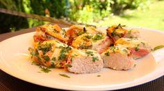 Ofenkäse, Bacon und Schweinefilet - das zusammen kombiniert auf dem Grill und…