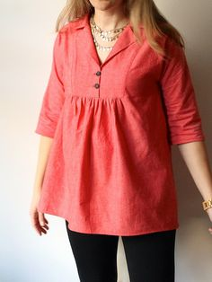 Late Lunch Tunic by Made by Rae by madebyrae, via Flickr