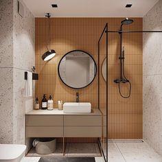 """Зробіть замовлення, яке включає в себе плитку з колекції BISCUIT і отримайте доп. скидку.  Колекції """"бісквіт"""" є на складі компанії. Всі зразки можна в живу подивитись в шоурумах компанії Bicolor Bad Inspiration, Bathroom Inspiration, Bathroom Styling, Bathroom Interior Design, Small Studio Apartment Design, Simple Bathroom Designs, Bad Styling, Rich Home, Bathroom Trends"""