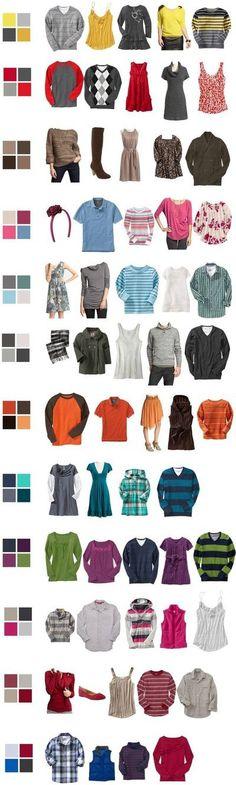 Algunas combinaciones para invierno!
