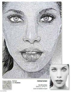 #SICIS #Mosaic #Tile #Art #Interiors #Portraits